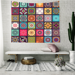 Monad Wholesale Bohemian Suzani Ethnic India Colorful Printed Wall Hanging Tapestry