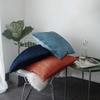 Monad Nordic Abstract Woven Lumbar Velvet Covers Cushion Cover For Sofa