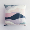 Latest Design Home Decorative Tie Dye Blue Grey 3d Printed Pillow Covers