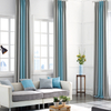 Monad Wholesale Decorative Solid Multi Color Patchwork Jacquard Fabric Blackout Curtain For Hotel