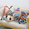 Geometric Nordic Style 45x45 Home Decorative Embroidered Cotton Cushion Cover For Sofa