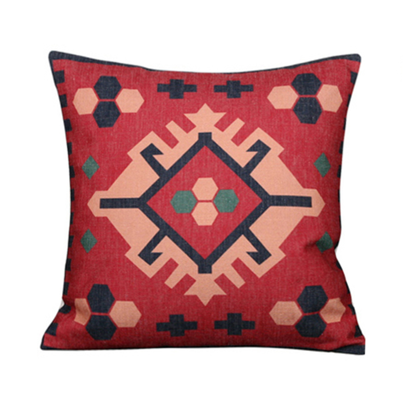 Kilim Fluffy Suzani Multicolor Personalized Custom Sofa Replacement Printed Cushion Cover